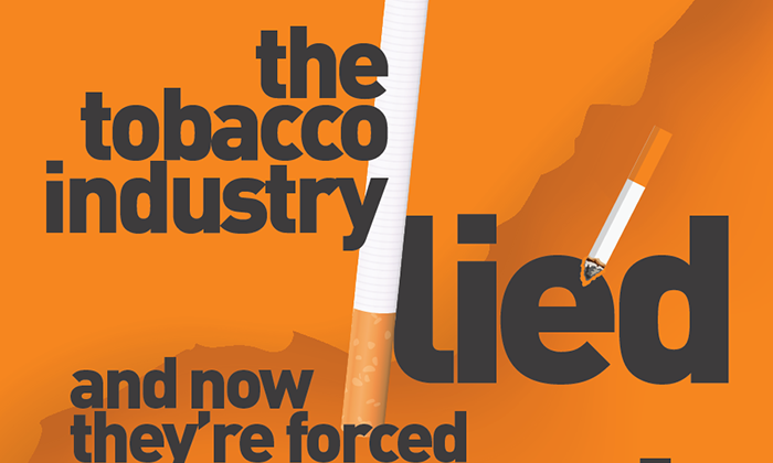 Infographic: Truth Initiative – Tobacco companies lied