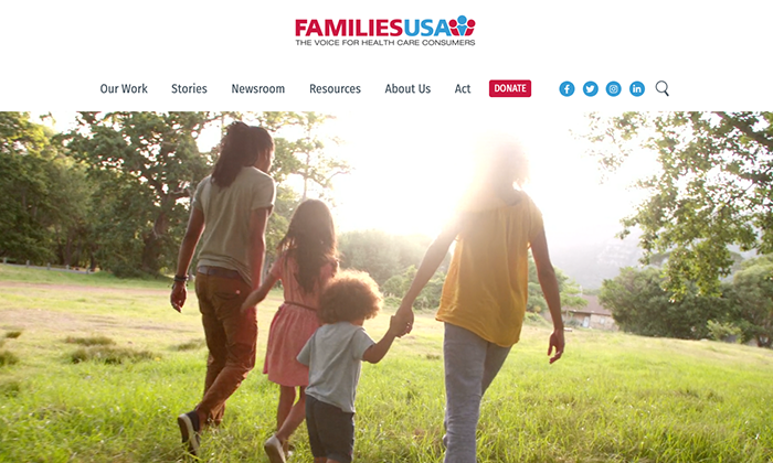 Website: Families USA