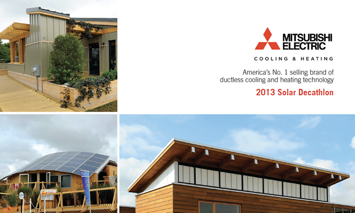 Marketing: Mitsubishi Electric – Solar Decathlon Brochure