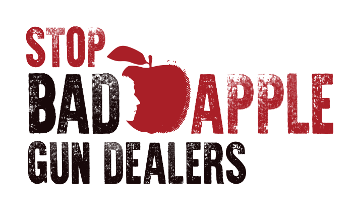 Logo: Stop Bad Apple Gun Dealers