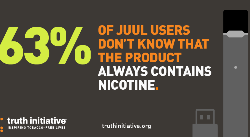 Social Media: Truth – JUUL