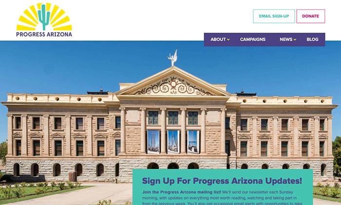 Website: Progress Arizona