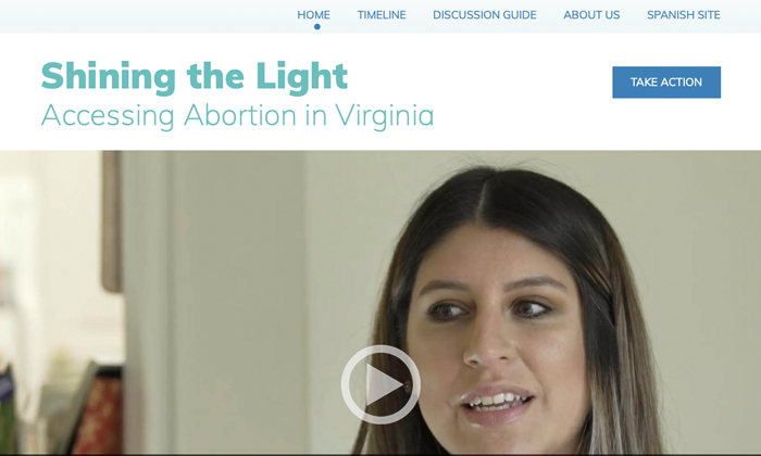 Website: Shining the Light