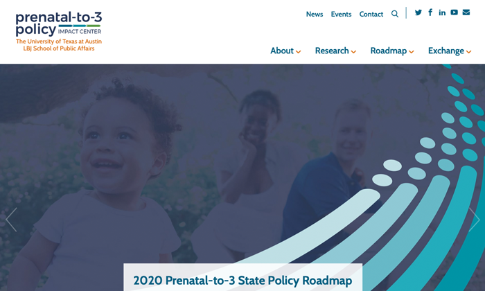 Website: Prenatal-to-3 Policy Impact Center